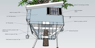 Tree House Floor Plan Narnia Treehouse U2013 Before U0026 During Essig