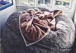 this lovesac pillow chair is as big as a bed and you u0027ll wait one