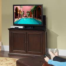 Touchstone Tv Lift Cabinet Touchstone Harrison End Of Bed Or Anyroom Lift Cabinet For 24 50