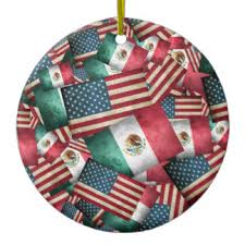 mexican flag ornaments keepsake ornaments zazzle