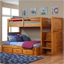 Bunk Bed Twin Over Full With Stairs Foter - White bunk beds twin over full with stairs