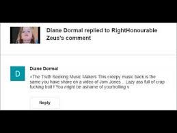 Seeking Troll Mr Diane Dormal Aka Dimges Tom Jones Fan Vile Troll Record Up To
