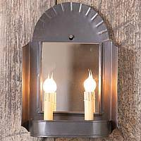 Tin Sconce Punched Tin Lighting To Bring Period Detail To Your Home Decor