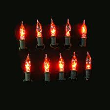set of 10 flickering bulbs de191022 lights