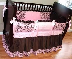 Pink Zebra Crib Bedding Pink And Brown Zebra Crib Bedding