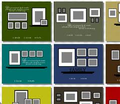 How To Design A Gallery Wall Gallery Wall Template Wall Art Design