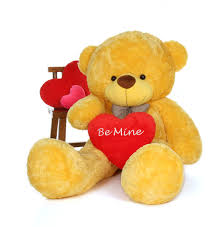 be mine teddy 6 foot be mine s day teddy cuddles