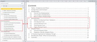 How To Do A Table Of Contents Navigation Pane In Word 2010 U2013 Your Content Guide The Office Corner