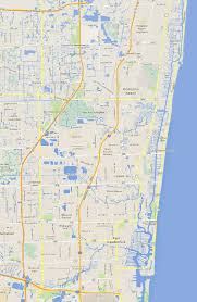 Fort Lauderdale Map Fort Lauderdale Waterfront