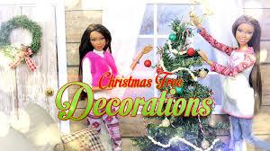 diy how to make doll christmas tree decorations handmade