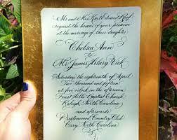 wedding invitation plate keepsake invitation platter etsy