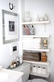26 Great Bathroom Storage Ideas Small Bathroom Shelves White Amazing On Intended Black With