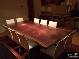 Conversing Dining Table Jewell Hardwoods Reviews Custom Hardwood Furniture Reviews
