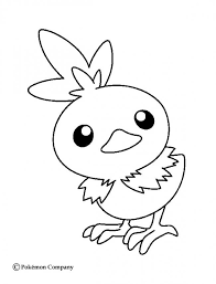 torchic coloring pages hellokids