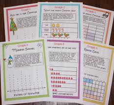 christmas graphing perfect for christmas math centers math
