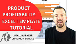 Excel Spreadsheet Tutorials Product Profitability Analysis Excel Template Spreadsheet