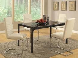 Glass Dining Room Furniture Sets Black Glass Dining Table Steal A Sofa Furniture Outlet Los