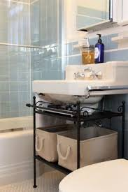 Apartment Bathroom Storage Ideas Organize The Space The Bathroom Sink Small Bathroom