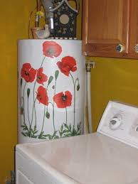 Laundry Room Decorating Accessories by Water Heater Cover Hide A Water Heater If You Have A Water Heater