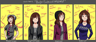 High School Freshman Meme - high school meme cubecakes by cubecakes on deviantart