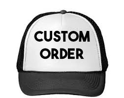 custom trucker hat etsy