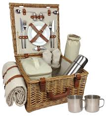 picnic baskets for two thyme season deluxe picnic basket for two picnicshop