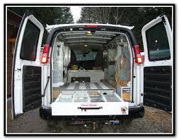 Cargo Van Shelves by Cargo Van Shelving Seattle Home Design Ideas