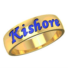 Name Ring Gold Name Engraved Men U0027s Gold Ring Gold Rings Online Gold Rings For