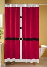 Red White Shower Curtain Black And White Shower Curtain Foter