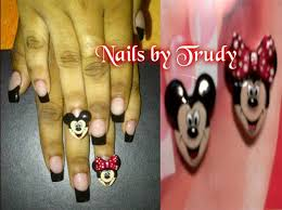 minnie and mickey nail art gallery