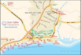 san jose cabo map hotels take a mini