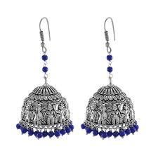 jhumka earrings uk indian traditional party wear jhumka earrings tribal jewellery