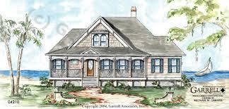 Coastal Cottage Plans by Garrell Associates Inc Palmetto Cottage House Plan 04210