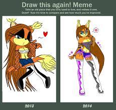 Meme Xx - sasha xx draw this again meme xx by pxste i on deviantart