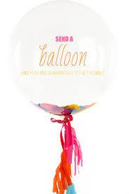 send a balloon send someone a smile with a bonjour balloon