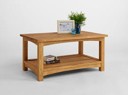 top oak coffee table with oak oval coffee table image 7 of 13