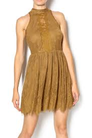 free people golden lace dress from asheville by union u2014 shoptiques