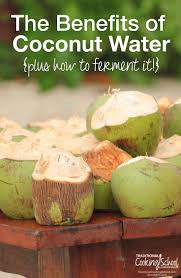 benefits of thanksgiving to god benefits of coconut water how to ferment it
