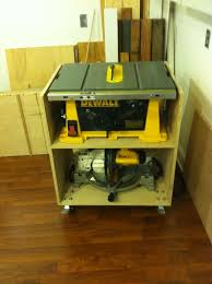 wood table saw stand image result for jobsite table saw storage workshop pinterest