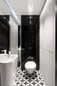 Black And White Bathroom Floor Tile Black White Tile Bathroom - Bathroom designs black and white
