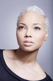 how to wear short natural gray hair for black women black women short cuts short white hair white hair and shorts