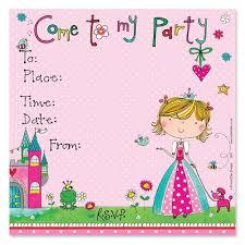 Princess Invitation Card Pretty As A Princess Party Invitations Princess Invites Party Ark