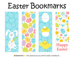 printable easter bookmarks to colour free printable easter bookmarks download the pdf template at http