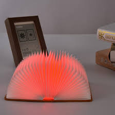 amber led book light selling wedding gifts led book five colors book l night light