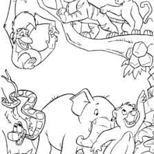 coloring book pages jungle animals archives mente beta most