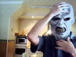 Lord Voldemort Halloween Costume Mask Unmasking Lord Voldemort Mask