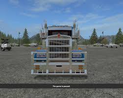 w900l kenworth w900l fs2km v1 0 farming simulator 2017 mods fs 17
