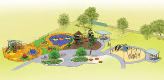 playground design new civic park playground designs released by tea tree gully
