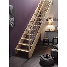 escalier peint 2 couleurs escalier droit urban tube structure bois marche bois leroy merlin