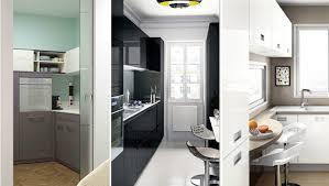 creer une cuisine dans un petit espace cuisines équipées design moderne bois meubles sur mesure et
